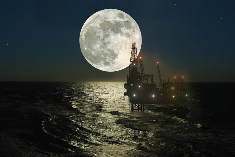 Oil rig at sea (Photo: Getty Images)