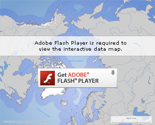 Adobe Flash Player is required to view the interactive data map