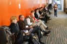 Conference´s delegates awaiting for the next session to start.