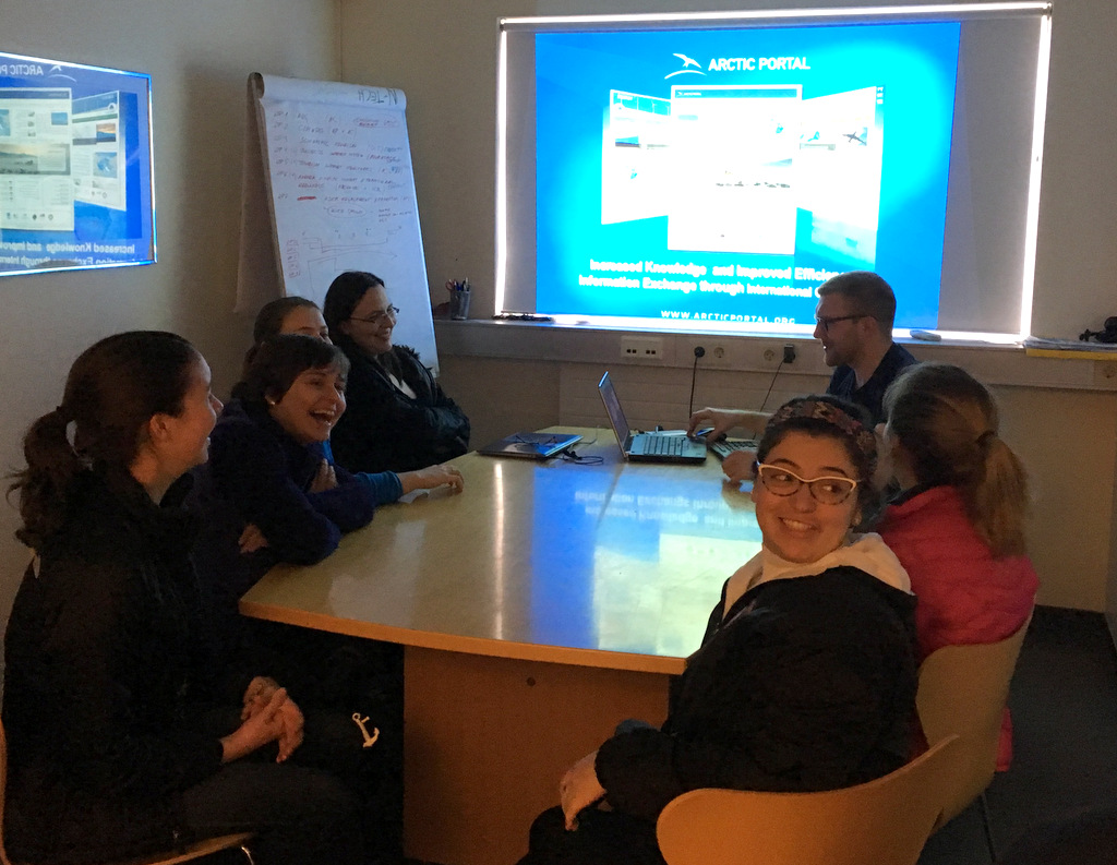 School for International Training SIT Students Pay a Visit to the Arctic Portal
