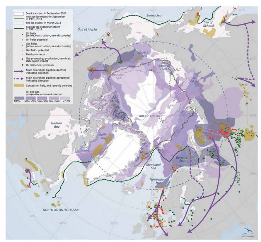 ENI's Plans to Drill the Arctic