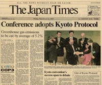 Kyoto protocol accepted