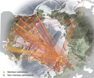 UArctic´s network (Photo: UArctic)