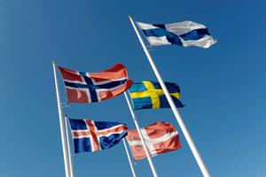 nordiskeflagg small