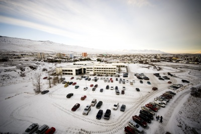 University of Akureyri during highwinter