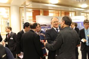 (Photo: Arctic Portal) Happy participants during the coffee break