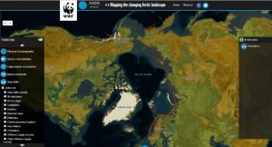 (Photo: WWF) The new WWF web tool map - click on the picture to view the interactive map