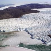 Jakobshavn glacier in Gree...